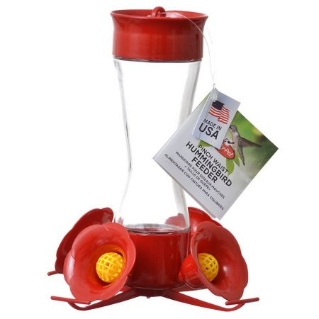 Perky Pet Perky Pet Pinched Waist Glass Hummingbird Feeder with Perches