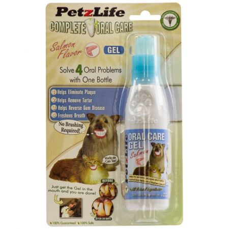 Petzlife Petzlife Complete Oral Care Gel - Salmon Flavor