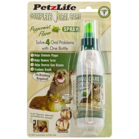 Petzlife Petzlife Complete Oral Care Spray with Blister Relief - Peppermint Flavor
