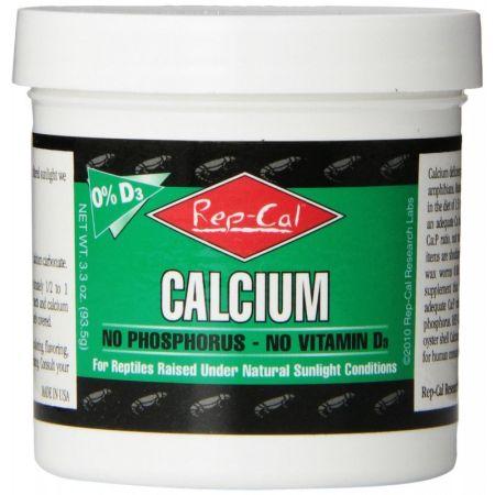 Rep-Cal Rep Cal Phosphorus Free Calcium without Vitamin D3 - Ultrafine Powder