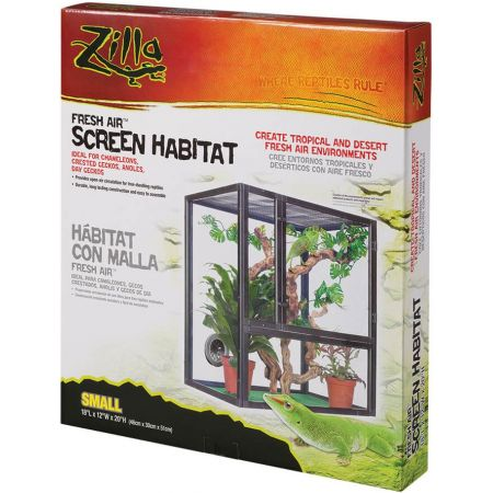 Zilla Zilla Fresh Air Screen Habitat