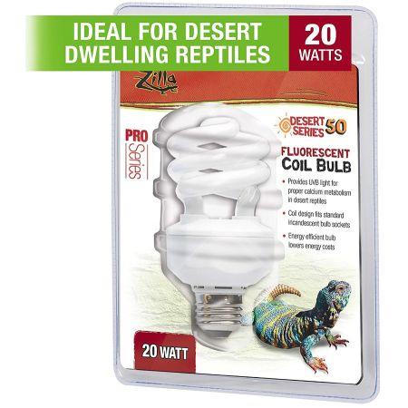 Zilla Zilla Desert UVB Coil Bulb