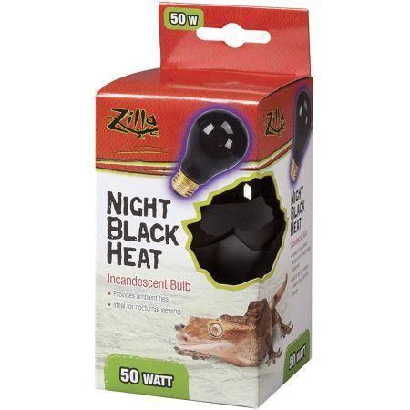 Zilla Night Time Black Light Incandescent Heat Bulb