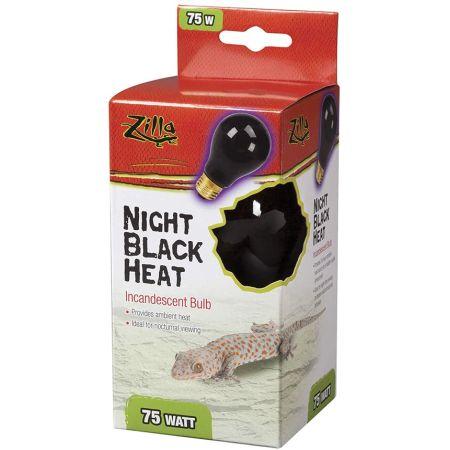 Zilla Night Time Black Light Incandescent Heat Bulb alternate view 2