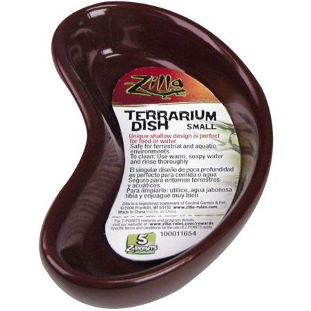 Zilla Zilla Kidney Shaped Terrarium Dish - Food or Water