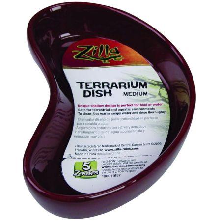 Zilla Kidney Shaped Terrarium Dish - Food or Water alternate view 2