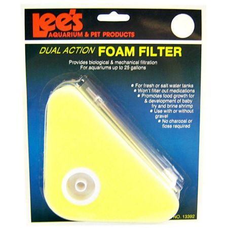 Lee's Lees Dual Action Triangle Foam Filter