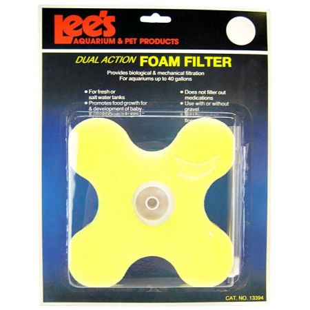 Lee's Lees Dual Action Clover Foam Filter
