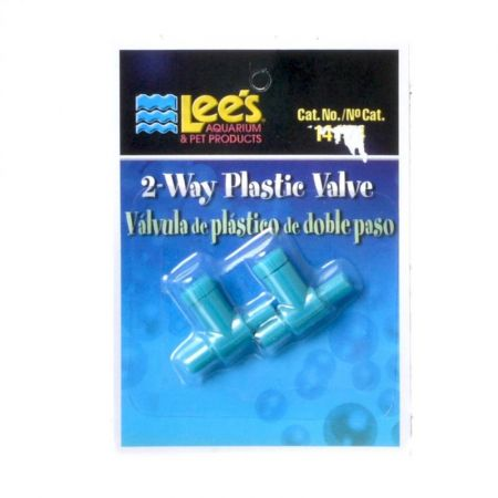 Lee's Lees 2 Way Plastic Valve