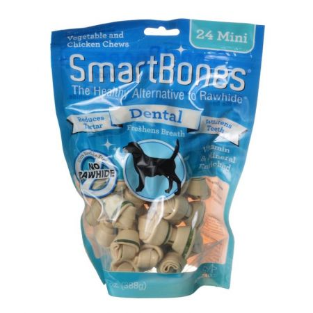 SmartBones Dental Bones - Chicken & Vegetable Dog Chews