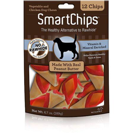 Smartbones SmartBones SmartChips - Peanut Flavored Dog Chews