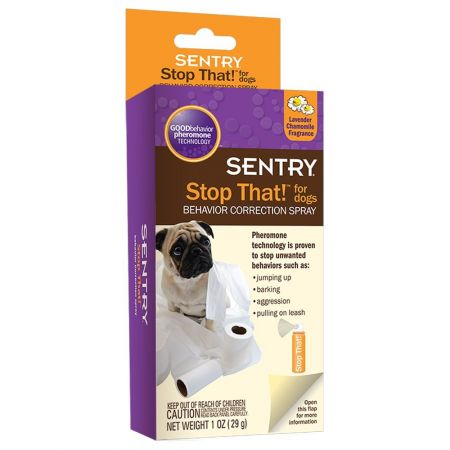 Sentry Sentry Stop That! Noise & Pherimone Spray for Dogs