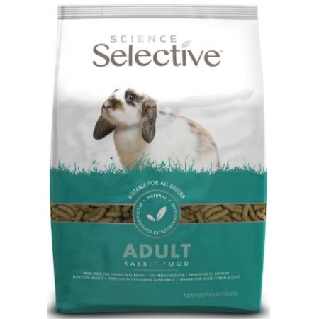 Supreme Science Selective Adult Rabbit Food alternate view 1