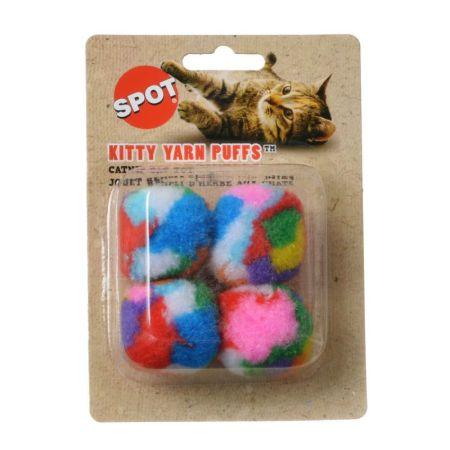 Spot Spot Spotnips Yarn Puffballs Cat Toys