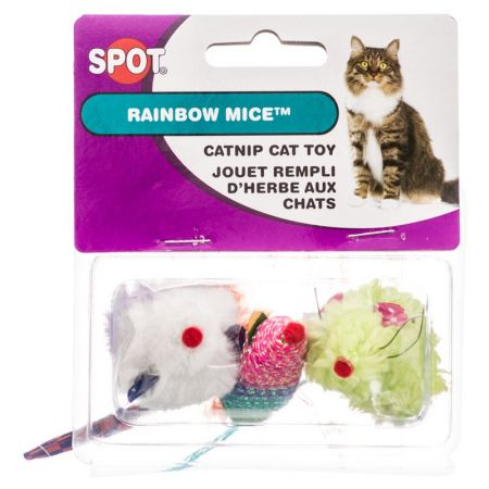 Spot Spot Spotnips Rainbow Mice Cat Toys - Assorted