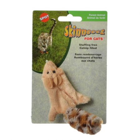 Spot Spot Skinneeez Squirrel Cat Toy