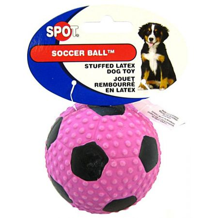 Spot Spot Socer Ball Stuffed Latex Dog Toy
