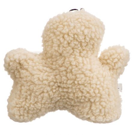 Spot Spot Vermont Style Fleecy Man Shaped Dog Toy
