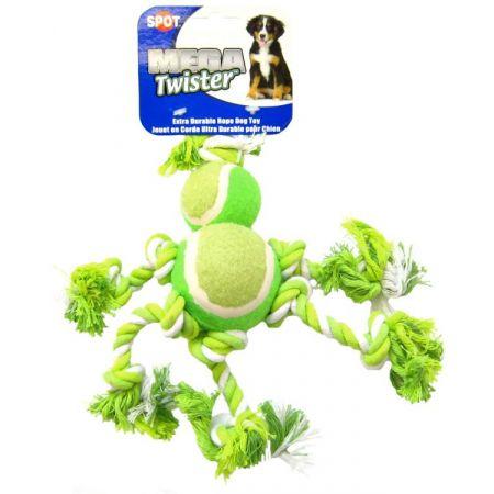 Spot Spot Mega Twister Double Tennis Ball Man Dog Toy