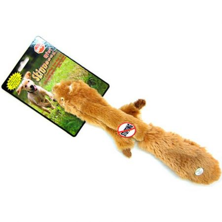 Spot Spot Skinneeez Plush Squirrel Dog Toy