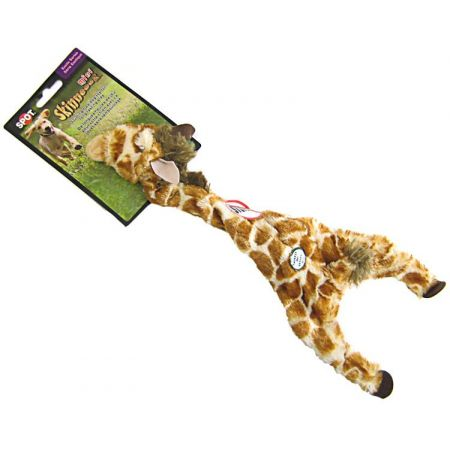 Spot Spot Skinneeez Plush Giraffe Dog Toy