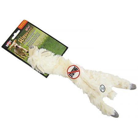 Spot Spot Skinneeez Plush Wooly Sheep Dog Toy