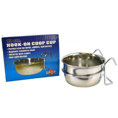 Spot Stainless Steel Hook-On Coop Cup alternate view 1