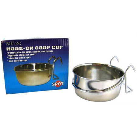 Spot Stainless Steel Hook-On Coop Cup alternate view 2