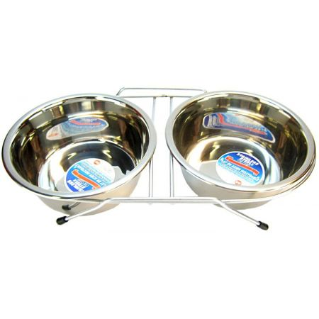 Spot Spot Stainless Steel Double Diner