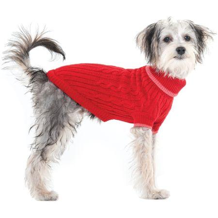 Fashion Pet Fashion Pet Cable Knit Dog Sweater - Red