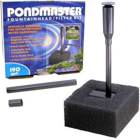 Pondmaster Fountain Head & Filter Kit