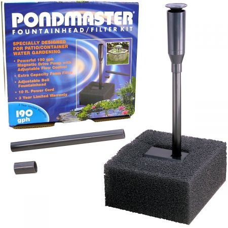 Pondmaster Pondmaster Fountain Head & Filter Kit