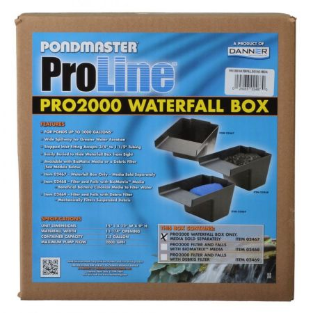Pondmaster Pondmaster Pro Series Pond Biological Filter & Waterfall