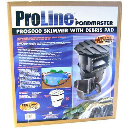 Pondmaster Pondmaster Proline PRO 5000 Skimmer with Debris Pad