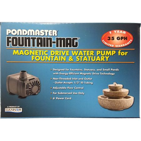 Pondmaster Pondmaster Pond-Mag Magnetic Drive Utility Pond Pump