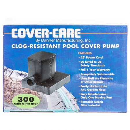 Danner Danner Cover-Care Clog -Resistant Pool Cover Pump