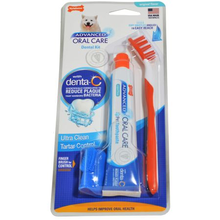Nylabone Nylabone Advanced Oral Care Adult Dog Dental Kit