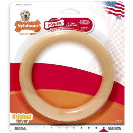 Nylabone Nylabone Dura Chew Original Dog Ring - Chicken Flavor