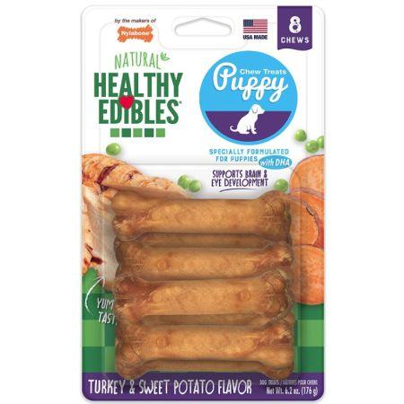 Nylabone Nylabone Healthy Edibles DHA Omega-3 Puppy - Turkey & Sweet Potato Flavor