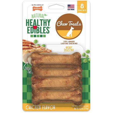 Nylabone Healthy Edibles Wholesome Dog Chews - Chicken Flavor