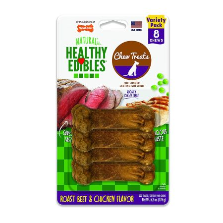 Nylabone Healthy Edibles Wholesome Dog Chews - Variety Pack alternate view 2