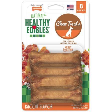 Nylabone Healthy Edibles Wholesome Dog Chews - Bacon Flavor alternate view 2