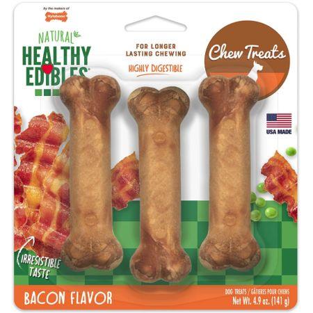 Nylabone Healthy Edibles Wholesome Dog Chews - Bacon Flavor alternate view 4