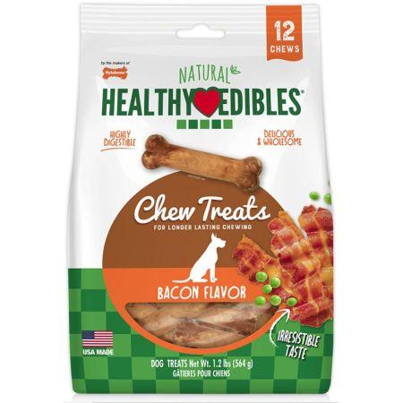 Nylabone Healthy Edibles Wholesome Dog Chews - Bacon Flavor alternate view 5