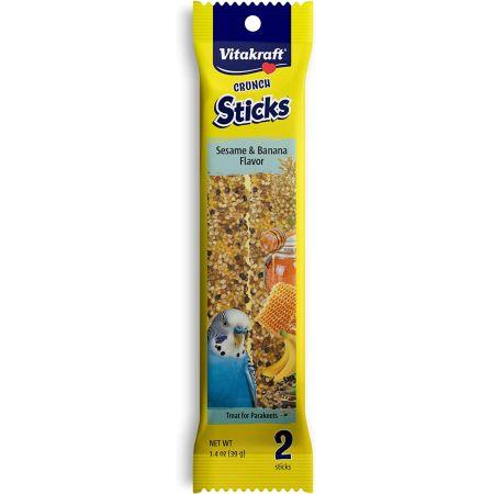 VitaKraft Sesame & Banana Sticks for Parakeets