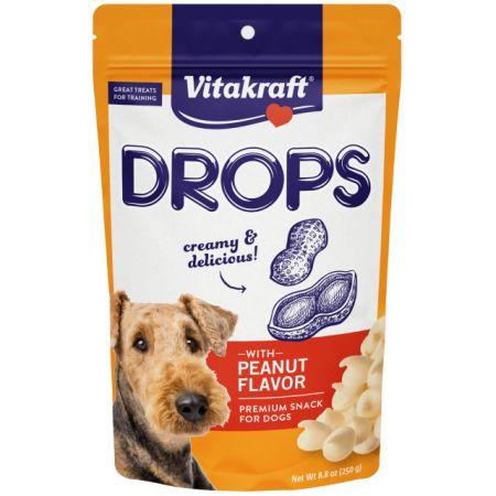 VitaKraft Drops with Peanut Dog Treats
