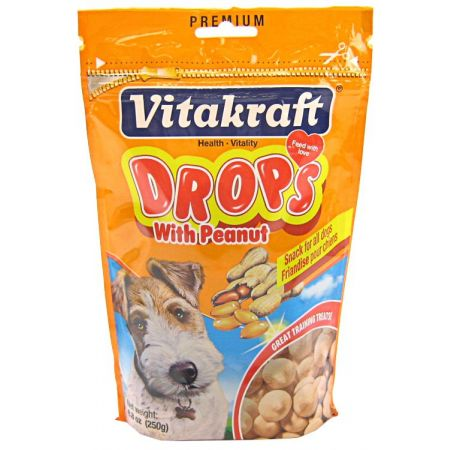 Vitakraft VitaKraft Drops with Peanut Dog Treats