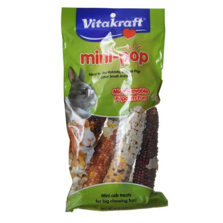 Vitakraft VitaKraft Mini-Pop Small Animal Popcorn Treat