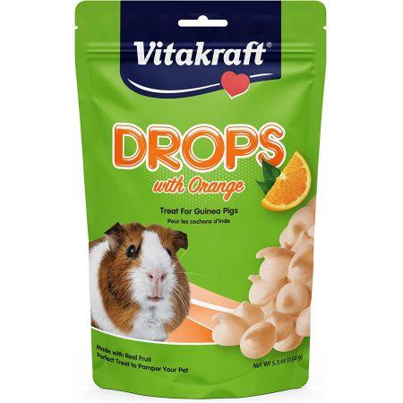 Vitakraft Vitakraft Drops with Orange for Pet Guinea Pigs