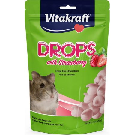 Vitakraft VitaKraft Drops with Strawberry for Hamsters